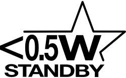<0.5W standby